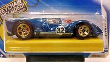 2010 Hot Wheels Keys To Speed Ferrari 330 P4 in Blue 076/240 Keychain Incl