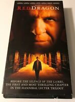 Red Dragon (VHS, 2003)