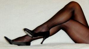 Q XL Peavey Black dress Pantyhose Sexy Hooters Lingerie Uniform 13% Spandex