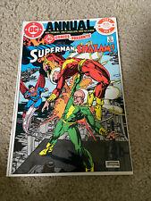 DC COMICS PRESENTS 3 ANNUAL-SUPERMAN/SHAZAM-GIL KANE ART-VF-NM?? CGC WORTHY