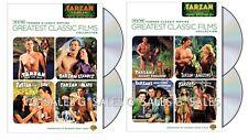 Tarzan Complete TCM Johnny Weissmuller Series Volumes 1-2 (1 & 2) NEW DVD SET