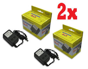 2 LOT OF NEW AC POWER ADAPTER FOR SUPER NINTENDO SNES (BRAND NEW IN BOX
