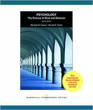 Psychology: The Science of Mind and Behavior, Smith, Ronald  E, Passer, Michael