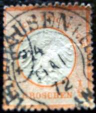 ALLEMAGNE - timbre - yvert et tellier n°3a obl - stamp germany