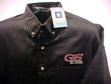 GS BY BUICK GM LICENSED  WOVEN DENIM SHIRT