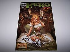 SIGNED J SCOTT CAMPBELL HERO COMICS 2011 GOLDILOCKS HOT