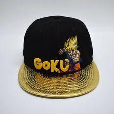 Anime Snapback Goku Super Saiyan DBZ Cap