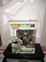 Funko Pop! Games Fallout #49 Power Armor minor package wear, see pics.