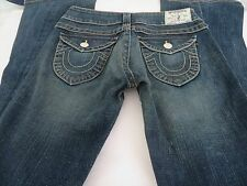 TRUE RELIGION JOEY TWISTED LEG 27 x 32 Denim Jeans EXCELLENT