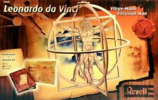 Revell 00509 LEONARDO DA VINCI VITRUVIAN MAN 1/16 Escala de Madera Modelo Kit