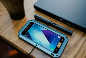 LOVE MEI Shockproof Heavy Duty Metal Case Cover For Samsung Galaxy A320 (2017)