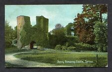View of Berry Pomeroy Castle, Totnes. Stamp/Postmark - 1908.