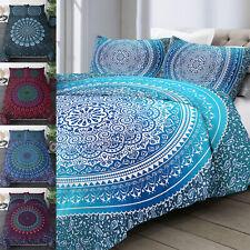 Boho Bedding Set Duvet Cover Pillowcase Bed Cover Bohemian Mandala Queen Size US