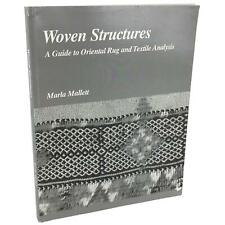 Woven Structures Oriental Rug Turkish Persian Carpet Berber Used Book