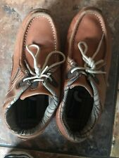 SIZE UK 3 Ben Sherman  2 EYELET LACE UP TAN LEATHER CASUAL SHOES