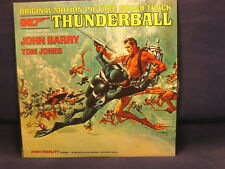 "JOHN BARRY ""Thunderball Soundtrack"" LP 1965 United Artists Records UAL 4132 MONO"