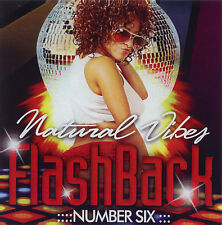NATURAL VIBES FLASHBACK 90'S  DANCEHALL MIX CD
