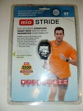 RARE New MIO Stride ECG Accurate Heart Rate Monitor Pedometer Calorie Watch