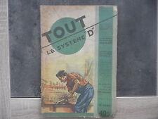 """Magazine Tout le Système """"D"""" n° 71 - Novembre 1951"""