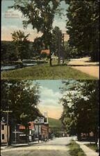 Proctorsville VT Split-View c1910 Postcard