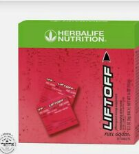 NEW HERBALIFE Liftoff Pomegranate-Berry Burst 30 Tablets FREE  SHIPPING