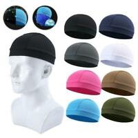 Men Cycling Skull Quick Drying Cap Bike Motorbike Under Helmet Liner Hat