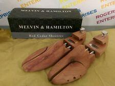Melvin & Hamilton Quality Red Cedar Wooden Shoe Tree Stretcher, Size 45 UK 10/11