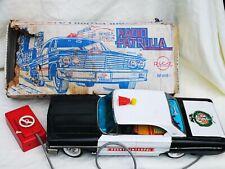 Rico no. 905 Radio Patrulla Blechspielzeug tin toy Car Spain Boxed Rare / Selten