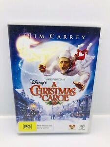 Disney's A CHRISTMAS CAROL DVD Jim Carrey Gary Oldman Colin Firth Bob Hoskins