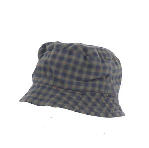 Vintage 90s Tommy Hilfiger Multi-Color Plaid Bucket Hat Cotton Baby 18-24 Month