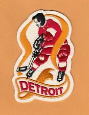 OLD DETROIT RED WINGS PLAYER JERSEY JACKET PATCH Unsold Stock