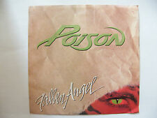 """SP POISON """"Fallen angel"""" Capitol Records – B-44191 USA (1988)"""