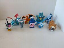 Set of 9 Pokemon Figures Charizard, Salamance and other Like Jakks, but no Brand