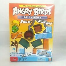 Angry Birds Game Ages 5+ on Thin Ice Game by Mattel 2-4 Players Hands OnGame