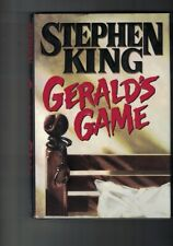 Gerald's Game by Stephen King (1992, Hardcover) DJ;FIRST EDITION