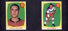 1961-62 Topps #38 Wayne Hillman Chicago Black Hawks Rookie