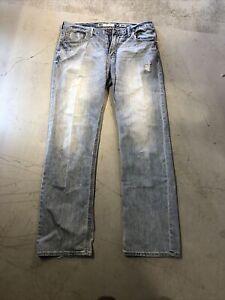 Blue Jeans 38x36 BKE Denim Tyler Men Authentic #717