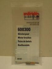 Märklin 1x Bürstenpaar E 600300 Kohle + Bürste Orginal Ersatzteil NEU
