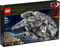 75257 LEGO Star Wars Millennium Falcon Set 1351 Pieces Age 9+