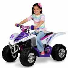 Yamaha Raptor ATV Ride on White-pink 12 Volt From Mr Toys