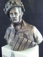 Parachute Regiment Normandy/Arnhem 1944 cold cast bronze bust