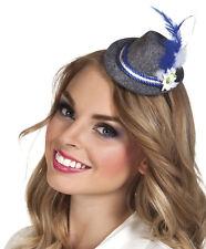 Miniatur Tiroler Hut Teresa NEU - Karneval Fasching Hut Mütze Kopfbedeckung