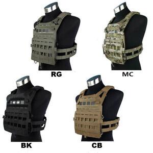 TMC3325 Lightweight SPC Tactical Vest with EVA board M size BK/RG/MC