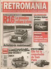 RETROMANIA 8 MICROCARS VESPA 400 MESSERSCHMITT RENAULT 16 AMC PACER BMW SERIE 6