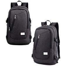 Mens Vintage Canvas Backpack Rucksack Satchel Laptop Shoulder Travel Camping Bag