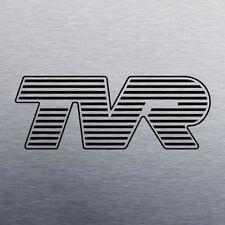 TVR logo vinyl decal - sized as per original badge - multiple colours