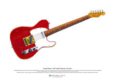 Muddy Waters Fender Telecaster guitar ART POSTER A3 size