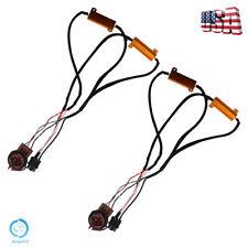 Pair 3157 4157 Load Resistors Decoders Fix Hyper Flash for LED Turn Signal Light