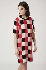 Topshop BOUTIQUE Crochet Knit Jumper Dress Vtg Retro UK 8 10 EU 36 38 US 4 6
