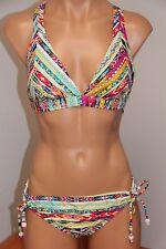 NWT Jessica Simpson Swimsuit Bikini 2 pc set Sz S Cool Mint
